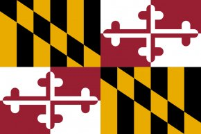 Flag Outline - Flag Of Maryland State Flag Flag Of The United States PNG