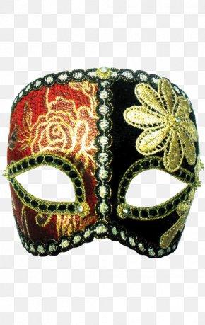 Mask - Mask Masquerade Ball Columbina Venice Carnival Gold PNG