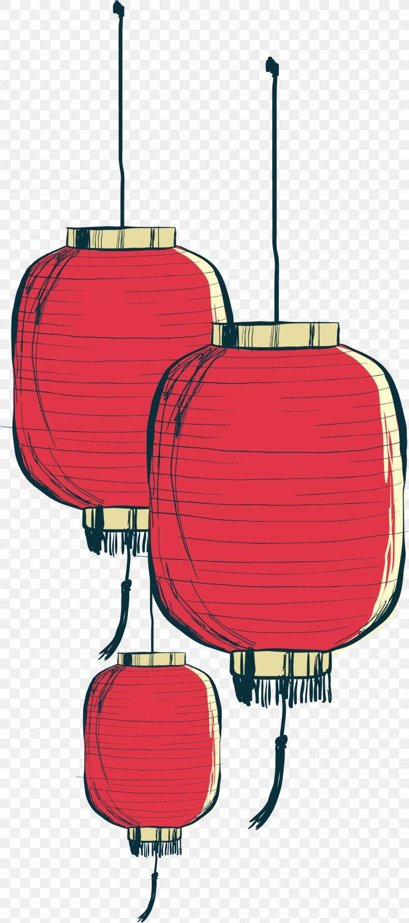 Paper Lantern, PNG, 1319x2977px, China, Chinese New Year, Festival, Illustration, Lantern Download Free