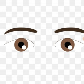 Foreign Brown Eye Eyebrow Pen Trace Vector Material - 54 Cards Eyebrow PNG