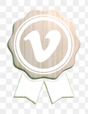 Heart Beige - Vimeo Icon PNG