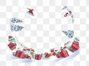 Winter Background - Winter Gift Snow PNG