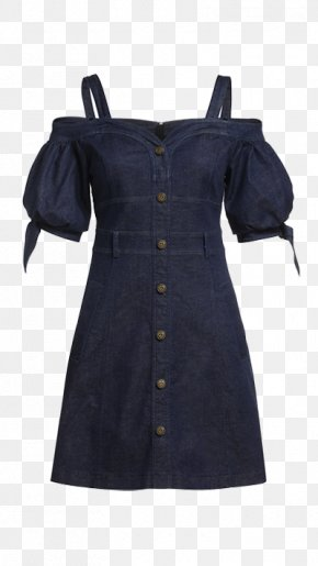 Harness Dress - Shoulder Sleeve Blouse Button Clothing PNG