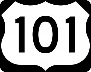 M - U.S. Route 101 U.S. Route 66 Hollywood Freeway Highway Road PNG