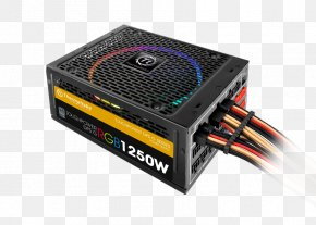 Images Included - Power Supply Unit 80 Plus RGB Color Model Thermaltake Power Converters PNG