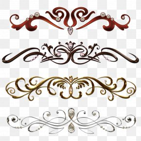 Jewelry Border Cliparts - Borders And Frames Clip Art PNG