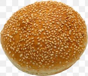 Bread Image - Hamburger Small Bread Clip Art PNG