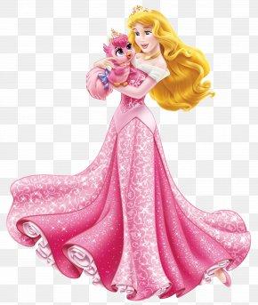 Disney Princess Aurora With Cute Bird Transparent Clip Art Image - Princess Aurora Cinderella Ariel Rapunzel Snow White PNG