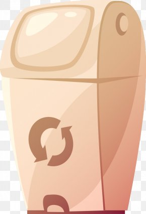 Hand-painted Trash Can - Waste Container Illustration PNG