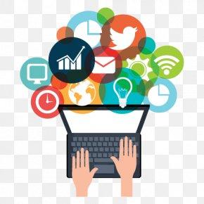 Social Media - Digital Marketing Social Media Marketing Reputation Management PNG