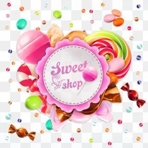 Lollipop Border Picture Material - Lollipop Candy Euclidean Vector PNG