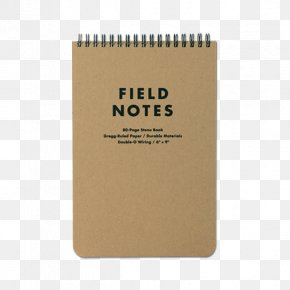 Notebook - Paper Field Notes Notebook Shorthand PNG