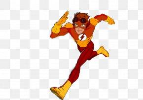 Kid Flash File - Kid Flash Wally West PNG