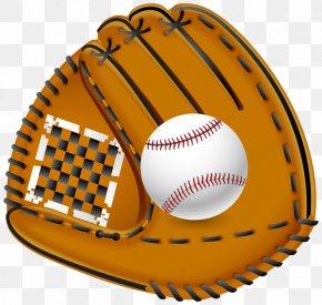 Baseball Glove - Baseball Glove Baseball Bat Clip Art PNG