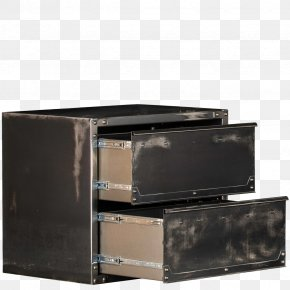 Rhino Watercolor - Drawer Hutch Shelf Furniture Steel PNG