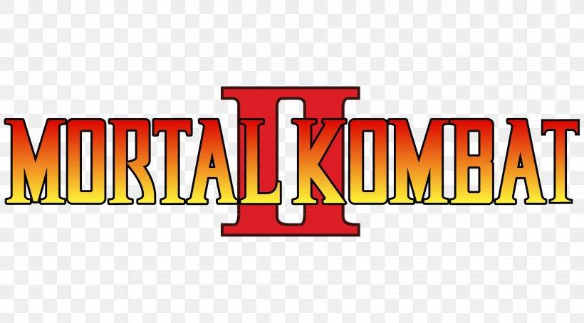 Mortal Kombat Ii Logo Brand Font Png 3830x2123px Mortal Kombat