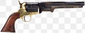 Ammunition - Colt 1851 Navy Revolver Trigger Firearm Gun Barrel PNG