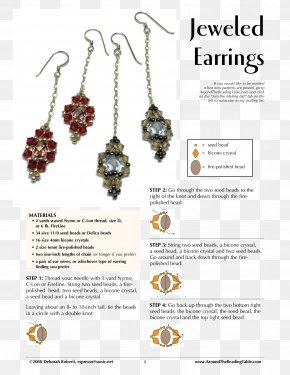 Jewellery - Earring Jewellery Bead Handmade Jewelry Pearl PNG