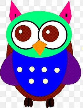 Bird Bird Of Prey - Owl Cartoon Bird Of Prey Bird PNG