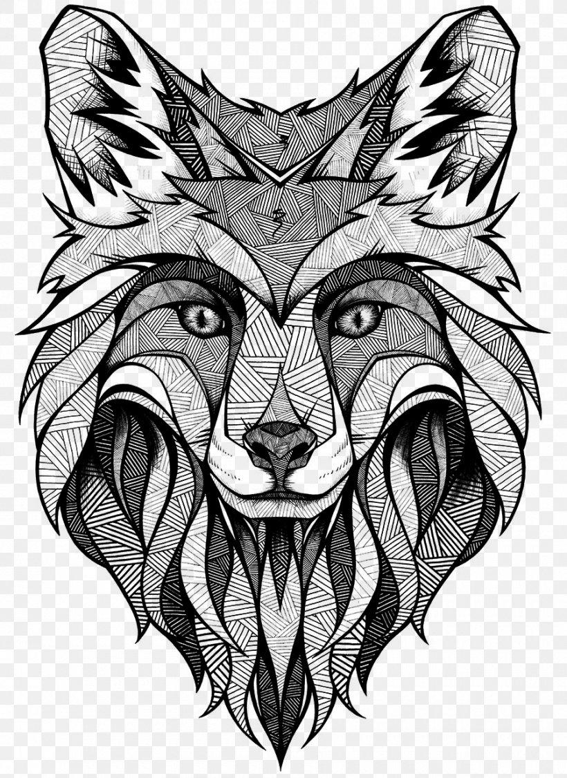 Tattoo Artist Drawing Face Tattoo Illustration Png 900x1236px Tattoo Abziehtattoo Art Blackandwhite Carnivore Download Free