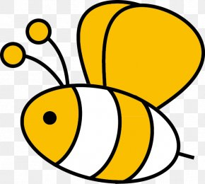 Bee - Bee Insect Clip Art PNG