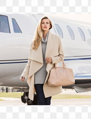 Model - Fashion Winter Clothing Coat Model PNG