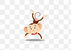 Juggling Monkey - Ape Monkey PNG