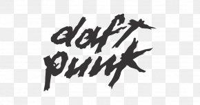 Daft Punk - Logo Calligraphy Font Daft Punk Brand PNG