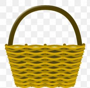 Gift Basket Clipart - Easter Basket Clip Art PNG