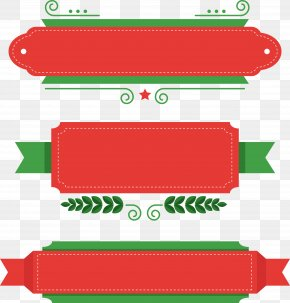 Christmas Theme Title Box - Christmas Santa Claus Boxing Day Clip Art PNG