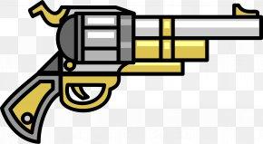 Gun - Firearm Weapon Revolver Clip Clip Art PNG