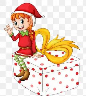 Santa Claus - Santa Claus Christmas Elf Gift Clip Art PNG