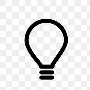 Light Bulb - Symbol IOS 7 Clip Art PNG