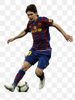 SRIRAM - Lionel Messi FC Barcelona UEFA Champions League Football Player PNG