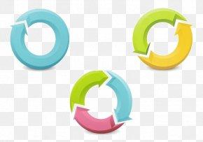 Pen Touch Vector Small Fresh Circle Arrow - Arrow Circle Download PNG
