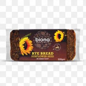Rye Bread - Organic Food Rye Bread Pumpernickel Sunflower Seed PNG