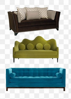 Sofa And Pillow - Sofa Bed Couch Living Room Furniture Interior Design Services PNG