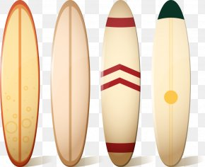 Four Surfboard - Surfboard Surfing PNG