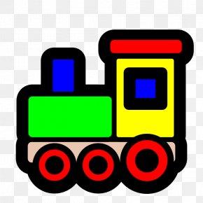 Toy Train Pics - Thomas Toy Train Clip Art PNG