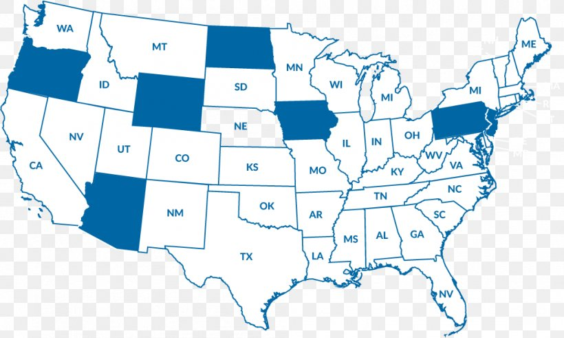 United States Blank Map, PNG, 1001x600px, United States ...