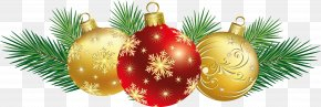 Christmas Balls Decoration Clipart - Christmas Decoration Christmas Ornament Christmas Card Clip Art PNG