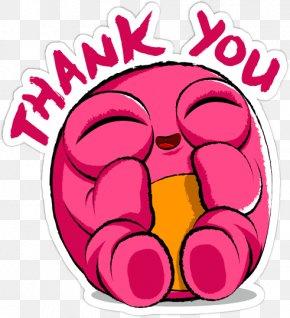 Thank You Emoji - Smiley Emoticon Emoji Clip Art PNG
