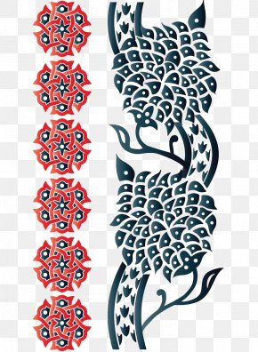 Islamic Features Border Decoration - Islamic Geometric Patterns Visual Design Elements And Principles PNG