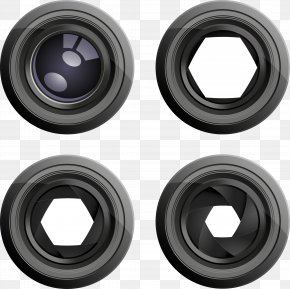 Camera Lens - Camera Lens Photography Clip Art PNG