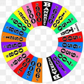 Wheel Of Dharma - Game Show Wheel Template Clip Art PNG