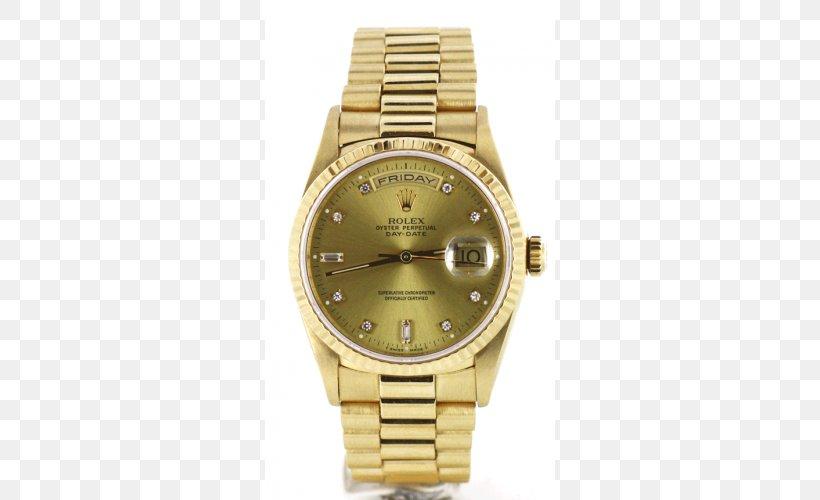 Rolex Datejust Watch Rolex Day-Date Strap, PNG, 500x500px, Rolex Datejust, Brand, Bucherer Group, Clothing Accessories, Gold Download Free