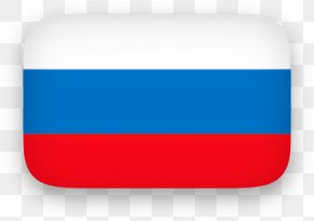 Russia Cliparts - Blue Rectangle Font PNG