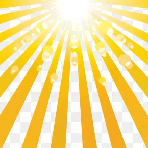 Vector Sun Rays - Flashlight Air Mattress PNG