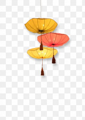 FIG Umbrella Ornaments - Mooncake Mid-Autumn Festival Chinese New Year Light PNG