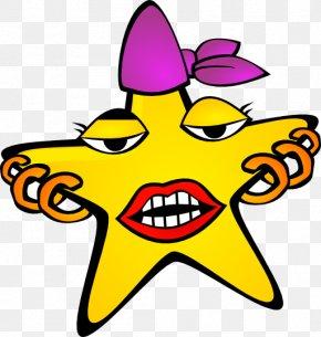 Nightstar Cliparts - Star Cartoon Clip Art PNG